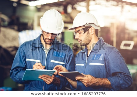 Colleagues working on a project together Stock photo © photography33