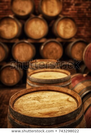 Barrels stored in a cellar Stock photo © photography33