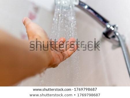 under shower stock photo © carlodapino