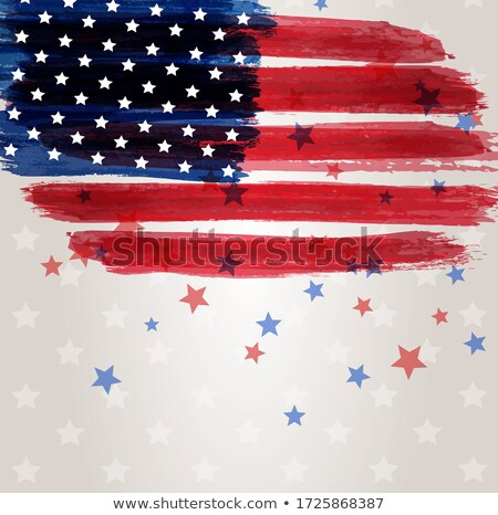 grunge · estrelas · estilo · bandeira · americana · abstrato - foto stock © kjpargeter