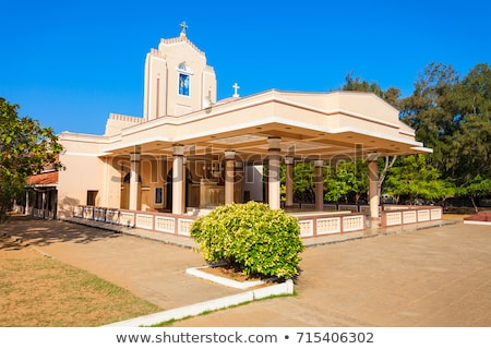 Old reformed church in Sri Lanka Stock photo © Hofmeester