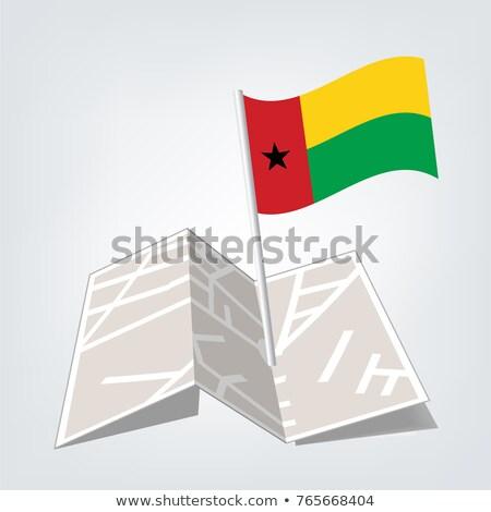 республика · Гвинея · флаг · высушите · земле · землю - Сток-фото © tashatuvango