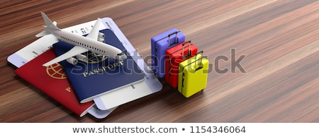 Travel Agency Illustrations Stock photo © ConceptCafe