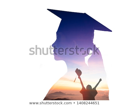 öğrenci · bakıyor · kamera · sınıf · arkadaşları · arkasında · bilgisayar - stok fotoğraf © milanmarkovic78