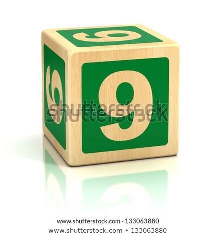 9 blocks game educational  Stock photo © Olena