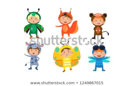 Smiling Little Beetle Stock photo © cthoman