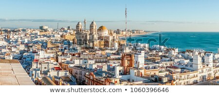 Panorama of Cadiz Stock photo © benkrut