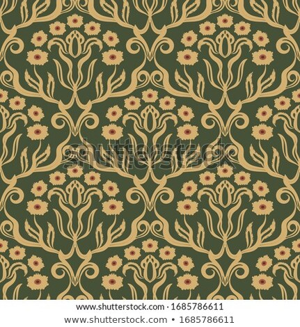 Vintage baroque ornamented background Vector. Royal luxury textu Stock photo © frimufilms