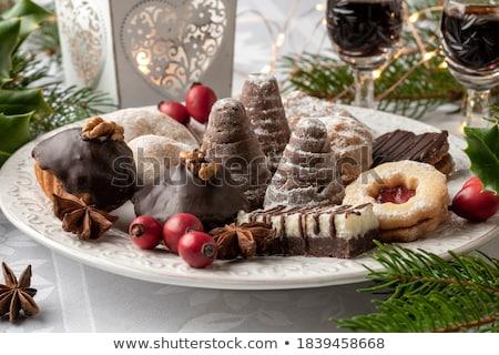 Czech christmas sweet cookies Stock photo © Peteer