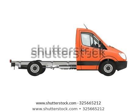Taksi çerçeve araba teknoloji kamyon köprü Stok fotoğraf © Imagecom