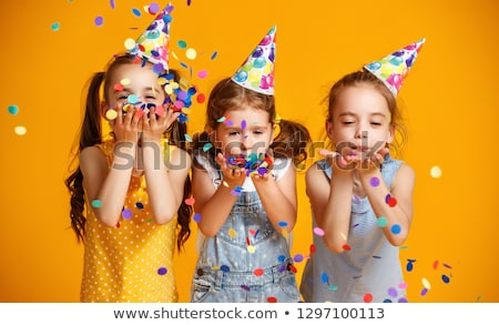 portrait of children at birthday party Stock photo © photography33