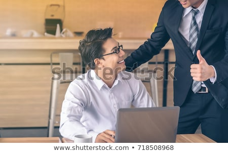 Boss happy with employee Stock photo © photography33