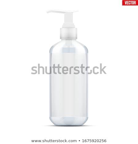 bottle of liquid soap isolated on white stock photo © ozaiachin