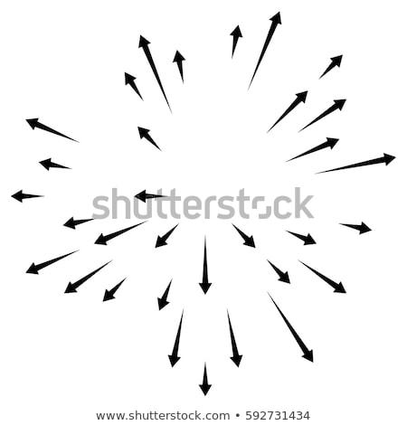 Radiating Arrows Stock photo © cteconsulting