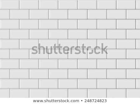 Tiled wall Stock photo © trgowanlock
