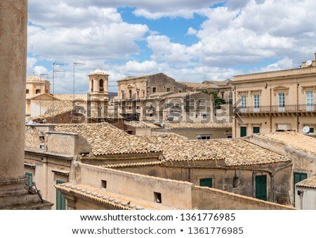 Above the rooftops in Noto  Stock photo © CaptureLight
