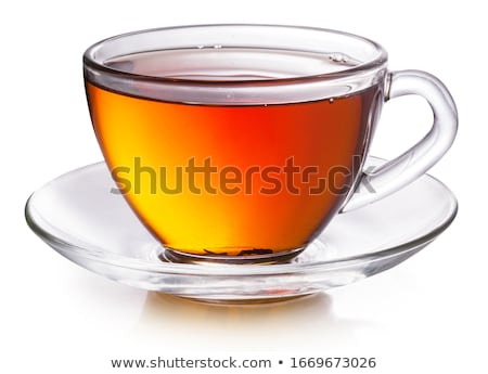 cup of tea isolated on white Stock photo © tetkoren