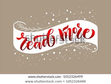 Интернет маркетинг название красный книга черный книжная полка Сток-фото © tashatuvango