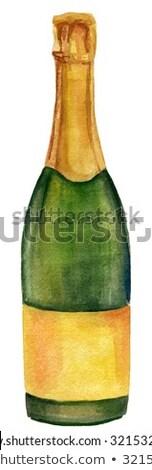 witte · druif · groene · voedsel · wijn - stockfoto © netkov1
