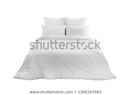 Bed isolated on white Stock photo © Valeriy