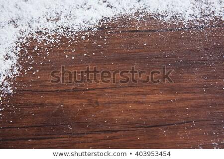 表面 カバー 雪 氷 テクスチャ 黒 ストックフォト © bryndin