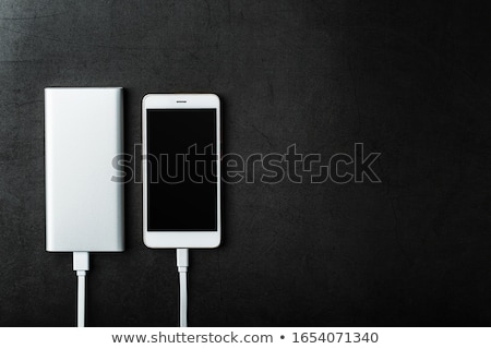 power bank and mobile phone stock photo © oleksandro