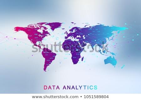 digitális · vektor · mesterséges · intelligencia · elektronikus · technológiák · egyszerű - stock fotó © robuart