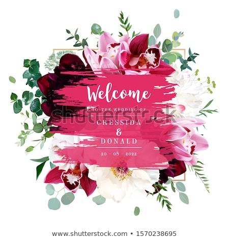 vendita · poster · rosa · gradiente · sfondo - foto d'archivio © cammep