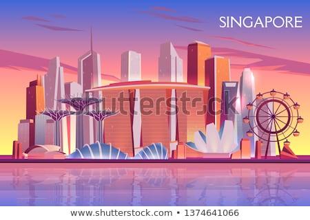 Singapore seashore Stock photo © joyr