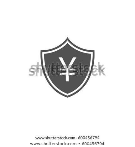 Biznesmen tarcza jen waluta symbol Zdjęcia stock © Kirill_M