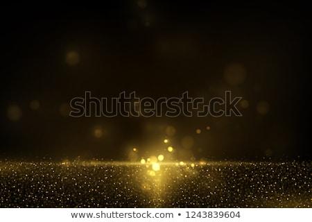 Glittery yellow Christmas background. EPS 10 Stock photo © beholdereye