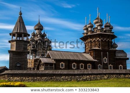 木製 · 教会 · 名誉 · 島 · 列島 · 北 - ストックフォト © mikko