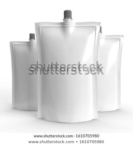 プラスチック 透明な 勾配 チョコレート レストラン ストックフォト © adamson