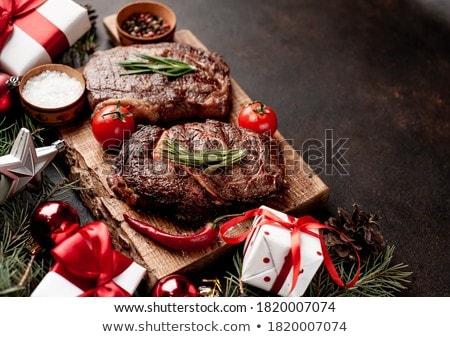 Christmas meal Stock photo © unikpix