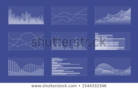 Infographics and Diagnostics, Charts and Schemes Stock photo © robuart