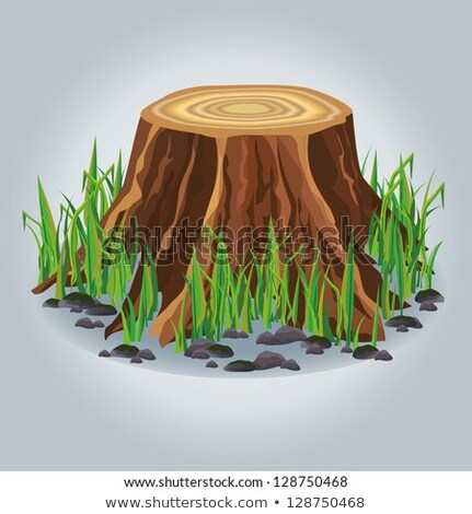 tarcica · drewna · lasu · ilustracja · charakter - zdjęcia stock © colematt