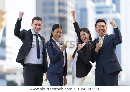 Team Leader Handshaking In Front Of Employee Congratulating Stock photo © AndreyPopov