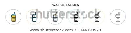トランシーバー 中古 通信 距離 ラジオ アンテナ ストックフォト © robuart