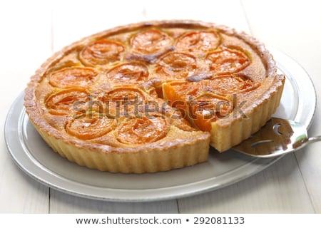печенье · пудинг · плодов · продовольствие · торт · желтый - Сток-фото © aladin66
