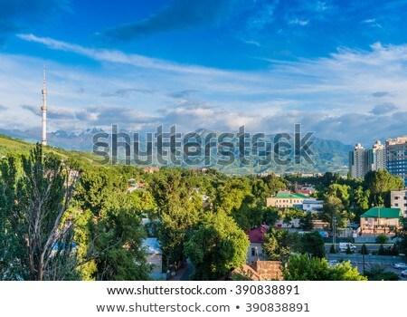 oude · nieuwe · gebouwen · centrum - stockfoto © hofmeester