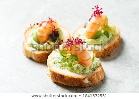 Shrimp appetizer stock photo © ErickN
