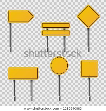 Przewodnik po podpisania znak stopu Zdjęcia stock © zzve
