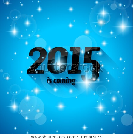 Modern Style 2015 New Year is coming background Stock photo © DavidArts