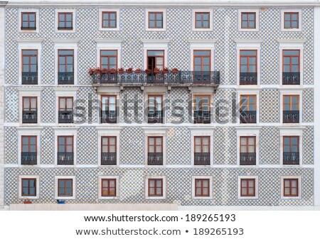 Лиссабон архитектура Португалия мнение традиционный улице Сток-фото © joyr