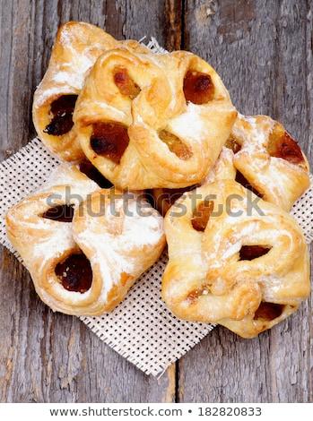 pastry baskets jam wrapped stock photo © zhekos