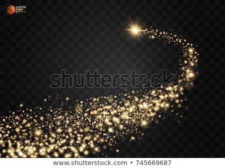 ベクトル · 波 · 明るい · 黄色 - ストックフォト © beholdereye