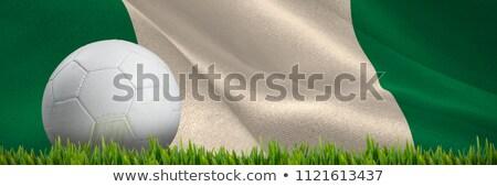 Hierba creciente aire libre digitalmente generado bandera Foto stock © wavebreak_media