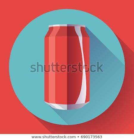 красный · Cola · группа · цвета · объекты · соды - Сток-фото © cidepix
