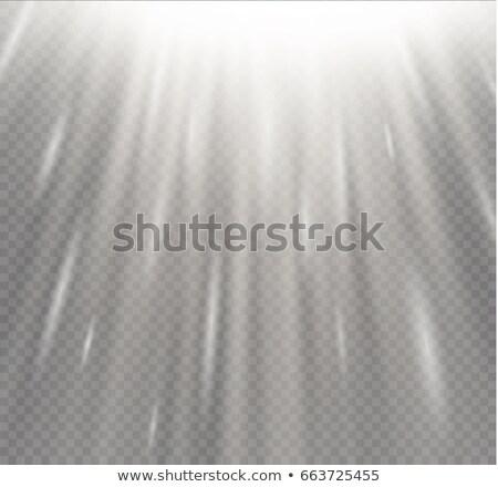 Elegáns izzó sugarak fény nyaláb kitörés Stock fotó © SArts