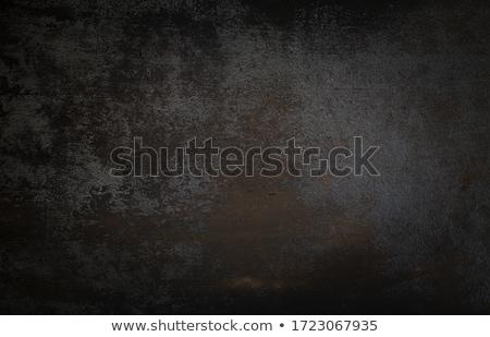 Hout vintage zwarte plank geschilderd tabel Stockfoto © IMaster